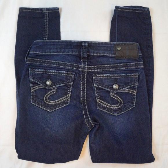 f8d1115d Silver Jeans Jeans | Suki Super Skinny Stretch Size 26 | Poshmark